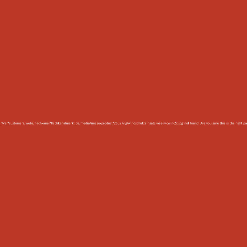 windschutzeinsatz wse iv twin 2x 46 41. Black Bedroom Furniture Sets. Home Design Ideas